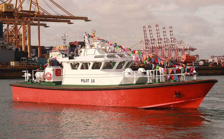 Teignbridge Provides Propulsion for Two New Pilot Boats
