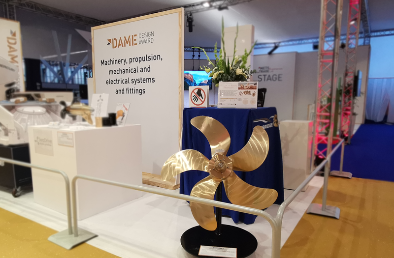 'Clamp on Blade' propeller receives Special Mention at the DAME Awards