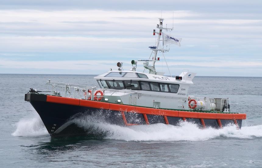 Scapa Pathfinder Wins Best Large Pilot Boat!