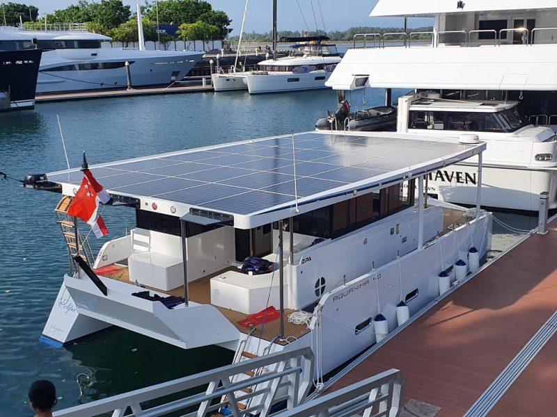 Innovative Solar Powered Catamaran Ferry