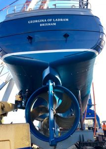 Propeller on the Georgina