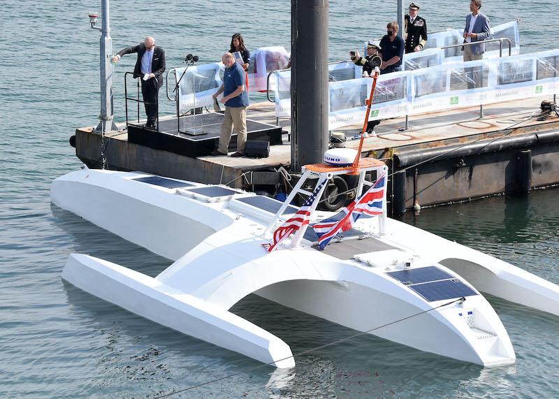 Teignbridge Propels the Mayflower Autonomous Ship