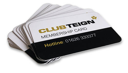 Club Teign Membership Cards